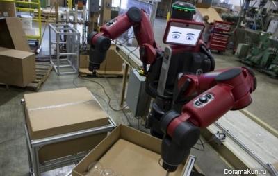 China. Robots