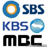 SBS, KBS, MBC