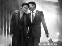 Li Yuchun, Andy Lau для Bazaar 2016