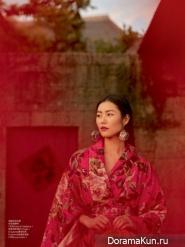 Liu Wen для Elle China 2016