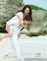 Chen Bo-Lin и Song Ji-hyo для COSMO Bride