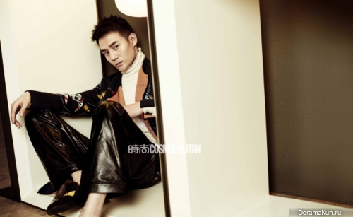 Wang Kai для Cosmopolitan 2016