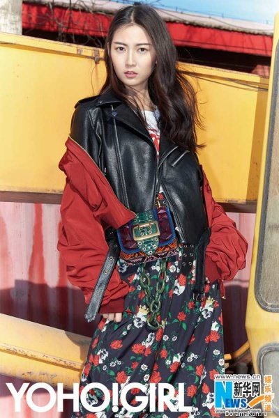Chen Yu Qi (Chen Yuqi) для Yoho!Girl April 2017