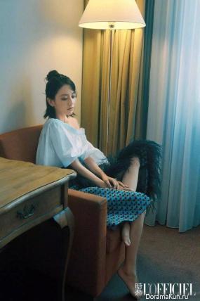 Tong Li-Ya L'Officiel June 2017