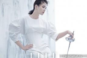 Liu Tao для Elle July 2017
