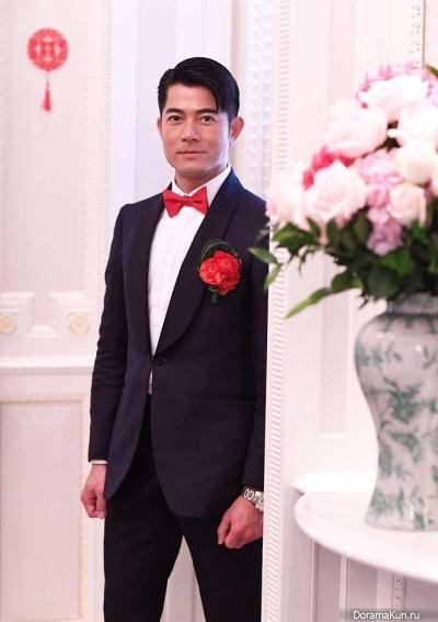 Aaron Kwok Concept Photos wedding April 2017