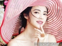Yao Chen для Elle May 2016