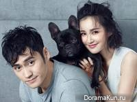 Yuan Hong, Zhang Xin Yi для Elle Extra 2 May 2016