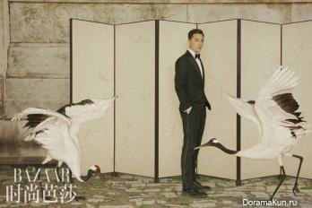 Daniel Wu для Harper's Bazaar China July 2016