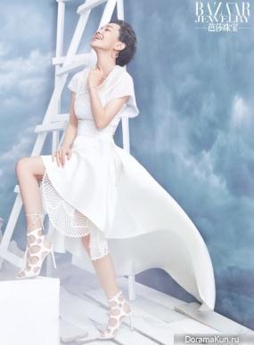 Amber Kuo для Bazaar JewelryJune 2016