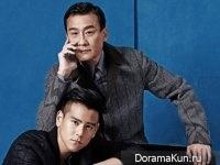 Eddie Peng, Tony Leung для Elle June 2016