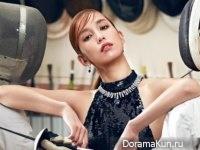 Annie Chen для ELLE (Taiwan) August 2016