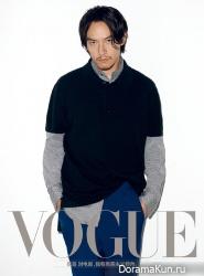 Hu Ge, Liu Wen, Chang Chen для Vogue November 2016