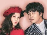 Cha Tae Hyun, Kim Yoo Jung для Cine21 Magazine vol. 1086