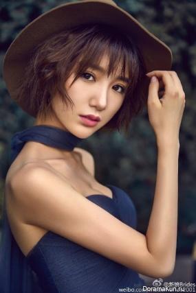 Mao Xiao Tong для Brides Weibo December 2016