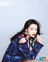 Sun Yi для OK! March 2017