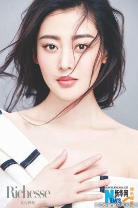 Zhang Tian Ai для Richesse March 2017