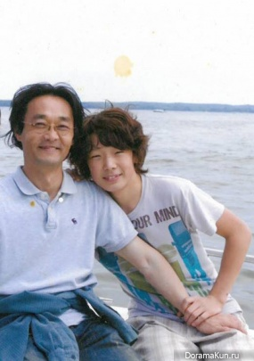 Father and me