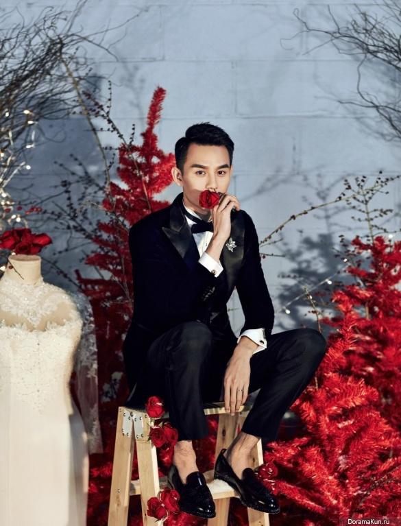 Wang Kai for Cosmo Bride