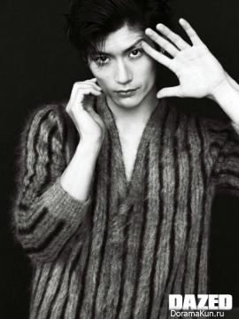 Miura Haruma для Dazed November 2018