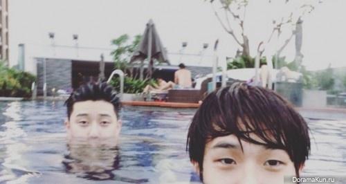 Park Seo Joon/ Choi Woo Shik