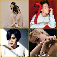 Hyomin /Hwang Chi Yeol/ Bang Yong Guk/ Tiffany