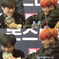 Wonho and Minhyuk