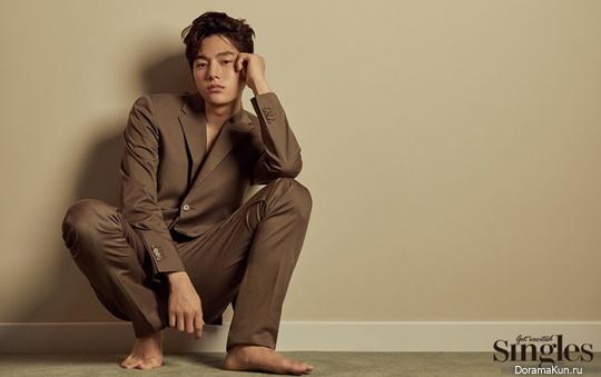 Kim Myung Soo для Singles July 2018