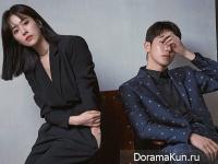 Nam Joo Hyuk, Han Ji Min для High Cut December 2019
