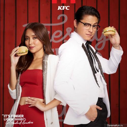 Daniel Padilla, Kathryn Bernardo, Kathryn Bernardo для KFC