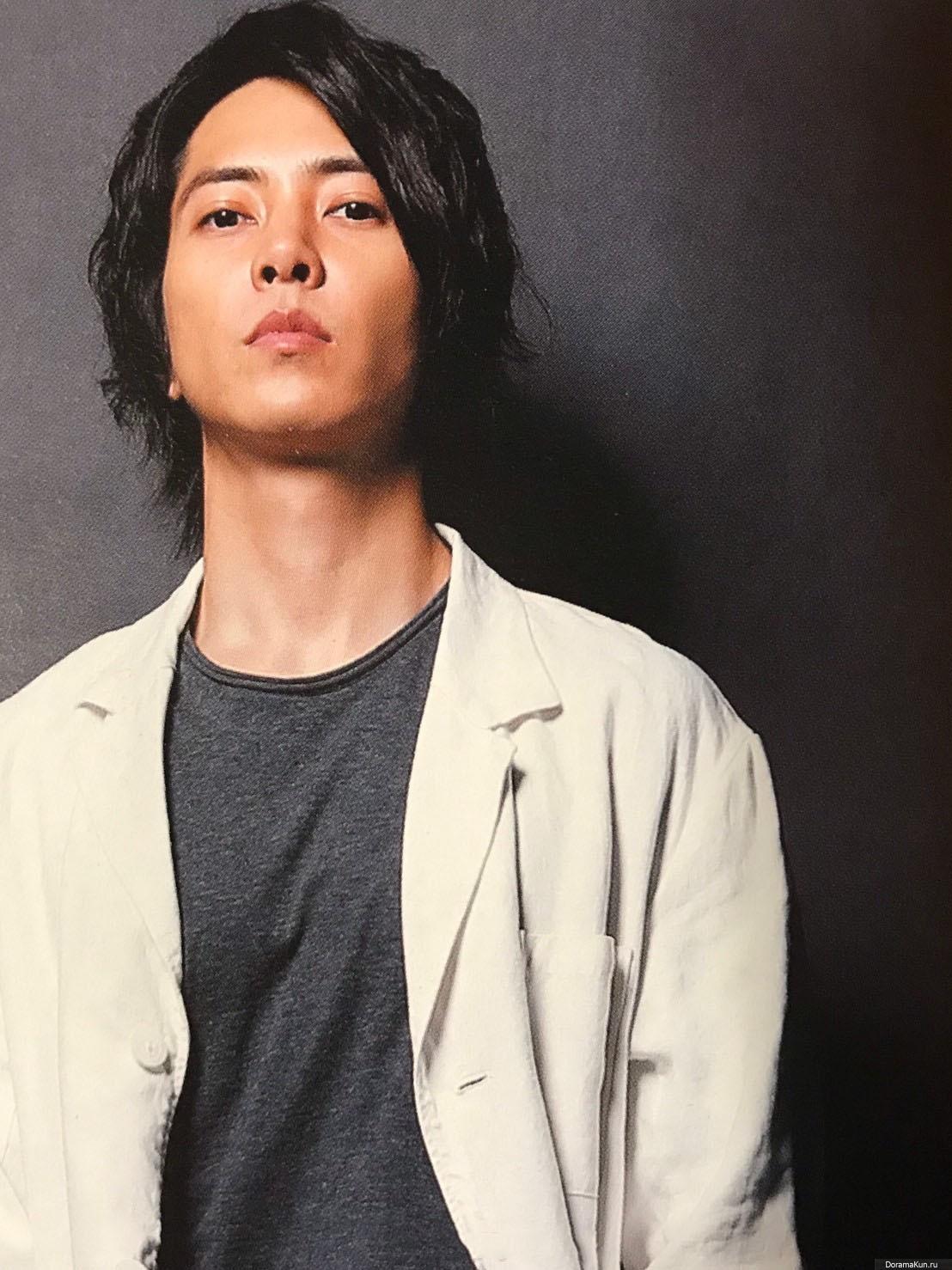 Yamashita Tomohisa для The Television COLORS Vol.44 April