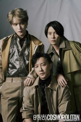 Yamashita Tomohisa, Kim Jae Joong, Han Geng