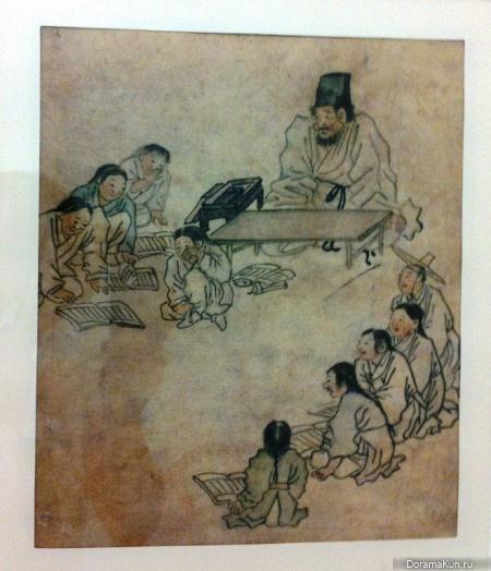 Выставка картин корейских художников