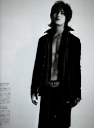 Akanishi Jin для Popeye 2007