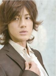 Akanishi Jin en Tarzan Magazine