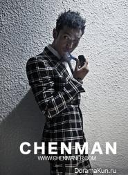 Huang Xiaoming для ELLE Men
