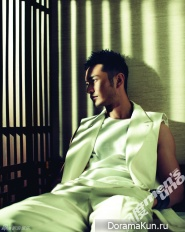 Huang Xiaoming для Men's Uno