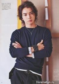 Jun Matsumoto для An An