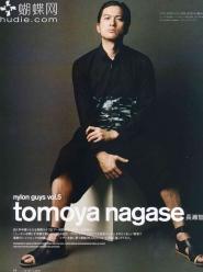 Nagase Tomoya для Nylon Japan