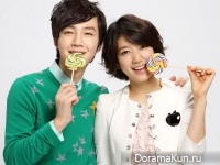 Jang Geun Suk и Park Shin Hye для Etude House VIP Girl Paparazzi