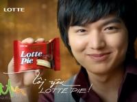 Lee Min Ho для Lotte Pie VietNam