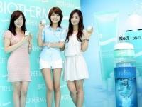 Yuri, Tiffany, Sooyoung (SNSD) для Biotherm Aquasource Ver 1