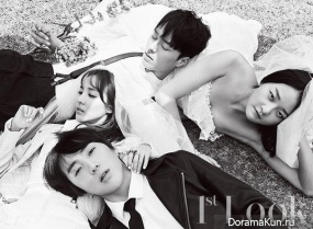 Dara (2NE1), Kang Seung Yoon (WINNER) для First Look 2015 Extra
