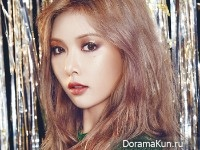 Hyuna (4Minute) для Beauty+ November 2015