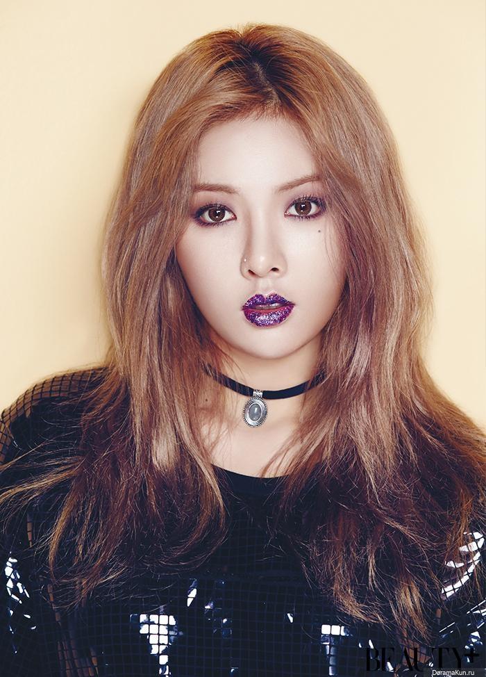 Hyuna 4minute для Beauty November 2015 Фотосессии