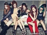 4Minute для Cosmopolitan March 2015