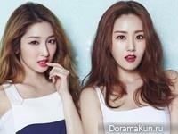 4Minute (Gayoon, Jihyun) для @Star1 August 2015