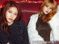 AOA (Hyejeong, Yuna) для SURE December 2015
