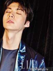Ahn Jae Hyun для Elle April 2014