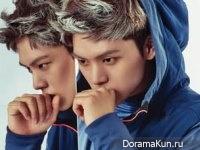 BTOB (Sungjae, Min Hyuk) для Arena Homme Plus November 2014
